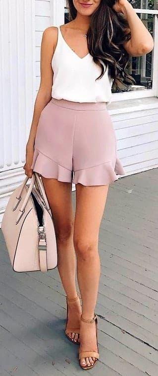 shorts pour femme tendance été 2018