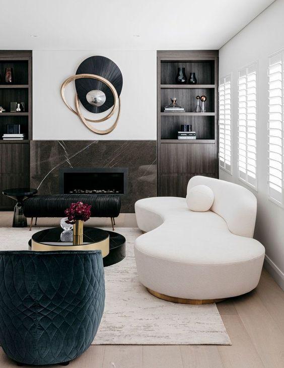 32 Plus Beaux Modeles Du Salon Moderne Pour 2018