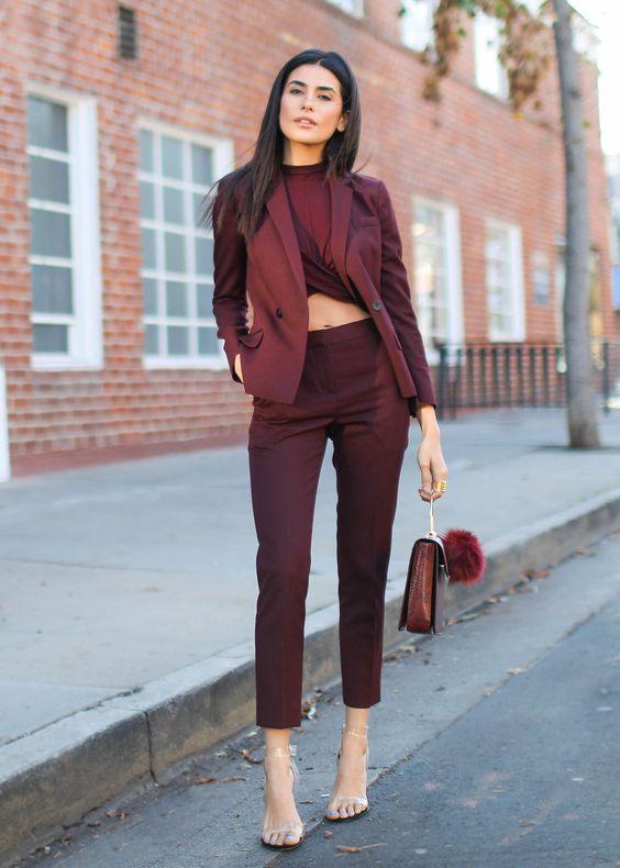 modèles de tailleur pour femme