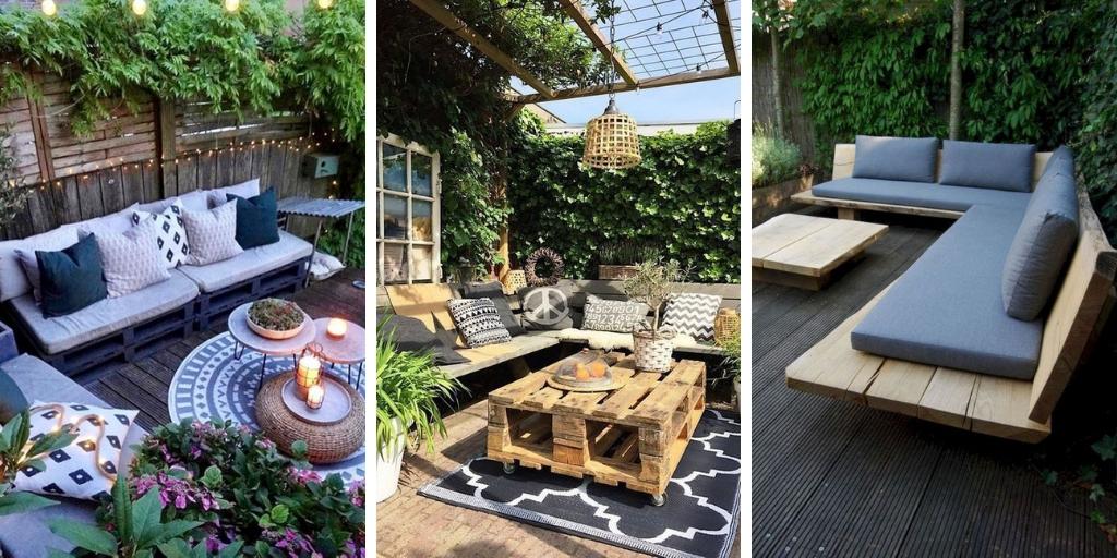 18 Modèles Des Canapés En Palette Pour Un jardin Exceptionnel