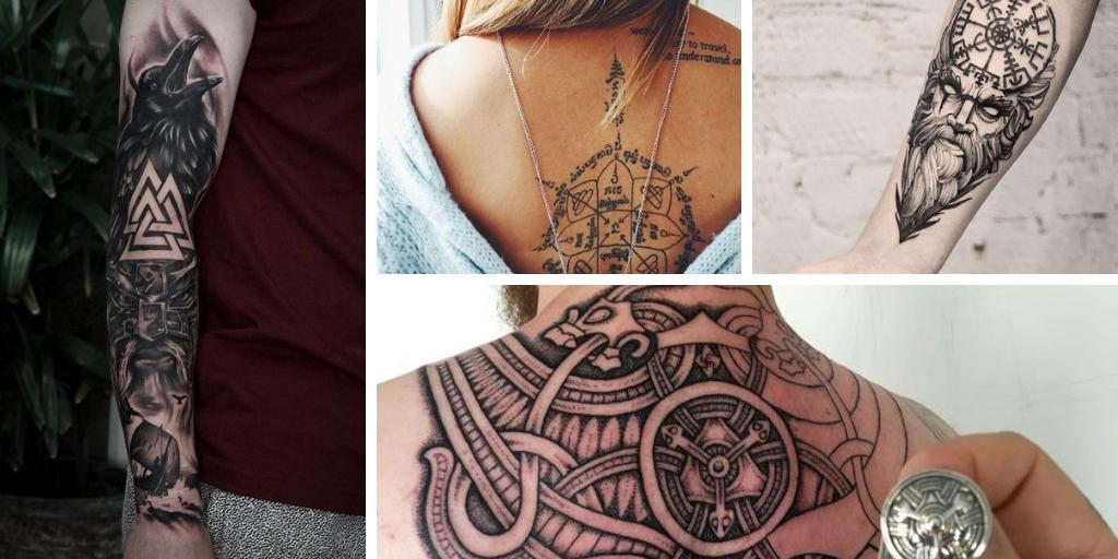 25 Tatouages Vikings Avec Des Symboles Nordiques