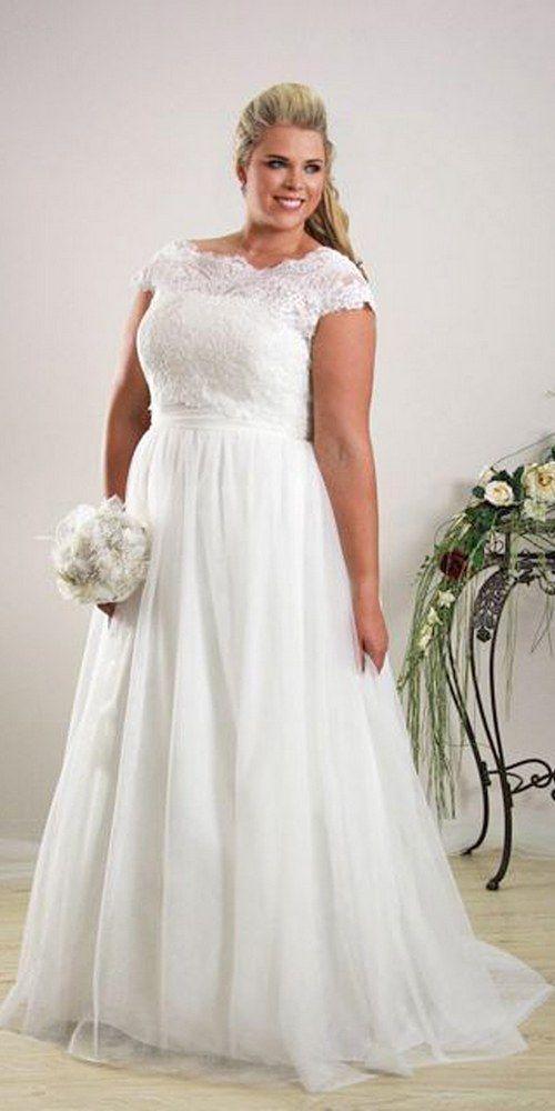 robes de mariage pour les femmes rondes