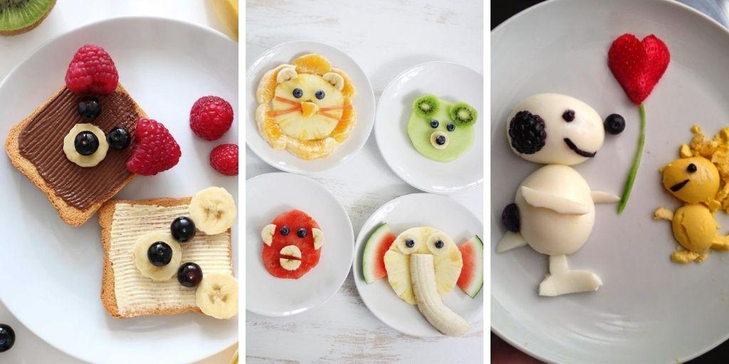 20 Idées De Présentation Originales Des Repas Enfant