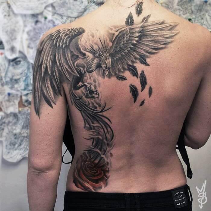 Que signifie un tatouage de Phoenix