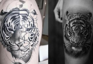 Quelle est la signification du tatouage de tigre