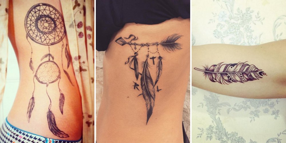 Quelle est la signification du tatouage plume