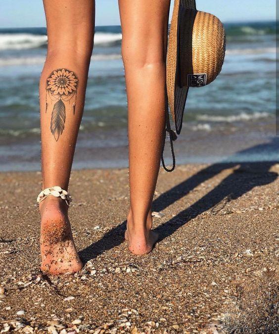22 Meilleurs Idees De Tatouages Mollet Pour Les Femmes
