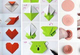 18 Idées D'Origami Faciles Pour Les Enfants