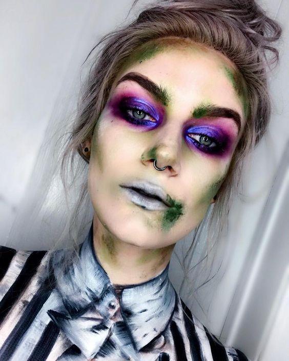 25 Maquillages D'Halloween Qui Feront De Vous La Princesse De La Soirée