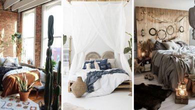 18 Photos De Chambres à Coucher Décorés Avec Un Style Bohémique
