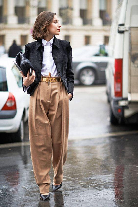 23 Pantalons Larges Stylés Pour Hiver 2019-2020