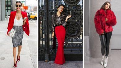 26 Pièces qui vont vous faire aimer le rouge