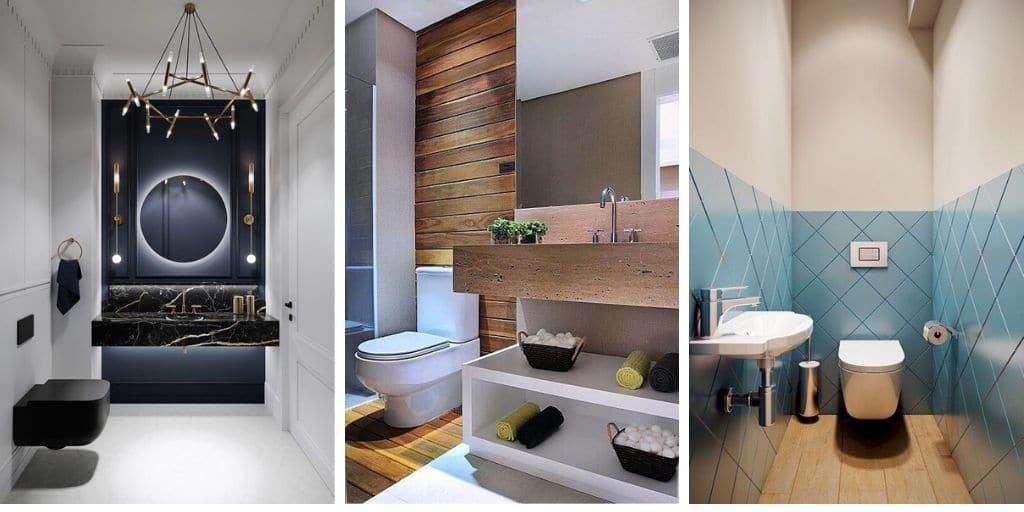 35 idées et designs créatifs pour petites salles de bain