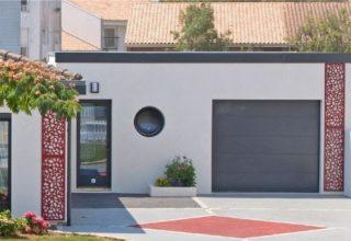 un garage parpaings