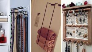 20 Idées de rangements à faire soi-même pour toute la maison