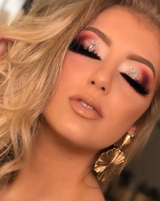 26 Idées de maquillage pour la nouvelle année 2020