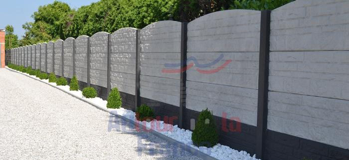 un mur de clôture