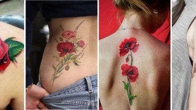 tatouage fleur coquelicot signification