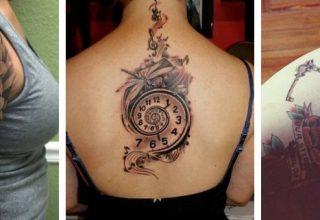 tatouage horloge signification