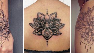 tatouage mandala lotus signification