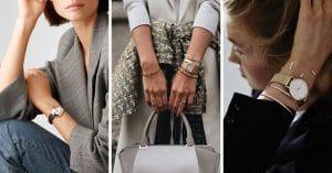 20 Montres élégantes pour les femmes chics