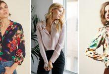 22 chemises en soie pour les femmes