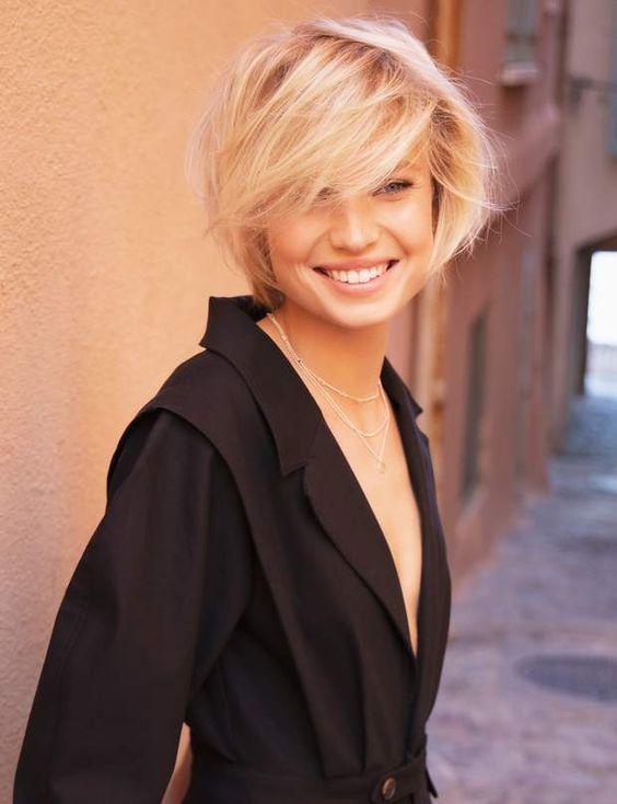 Les 20 plus belles coupes de cheveux avec frange !