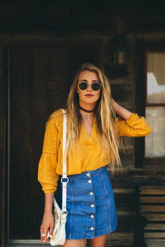 Les 24 plus belles jupes en jean - Tendance 2020