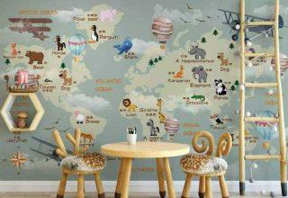 10 papiers peints à motifs pour une chambre d'enfant