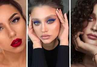 20 Idées de maquillage pour les yeux bleus