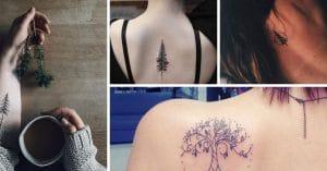 20 Idées de tatouage d'arbre pour les femmes