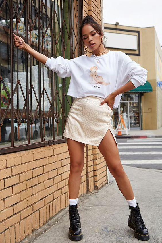 20 Mini-jupes que vous pouvez porter cette été