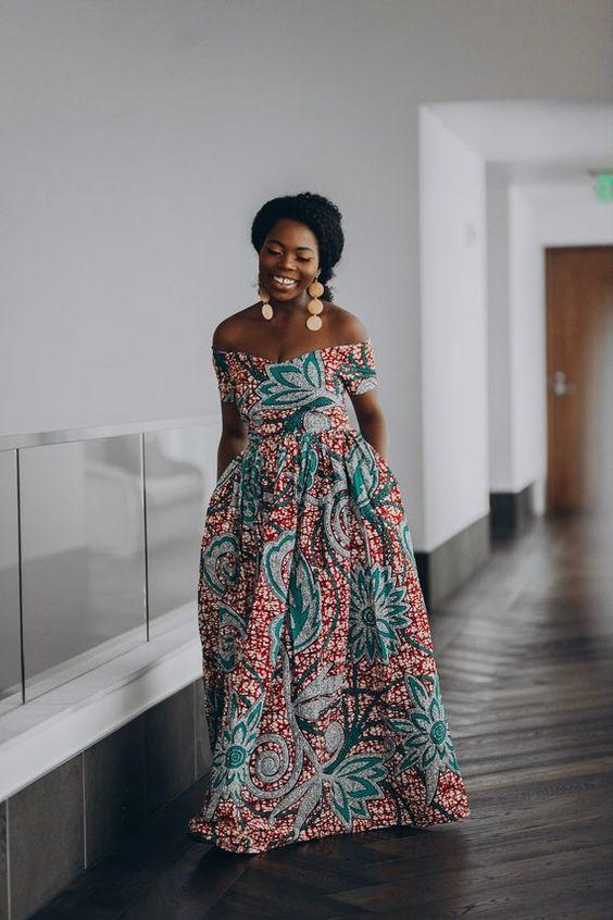 20 Meilleures Robes Imprimées Mode africaine
