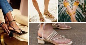 Sandales : 26 tendances chaussures à adopter cet été
