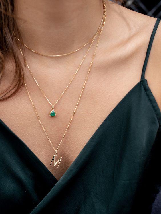 20 Bijoux du cou pour les femmes
