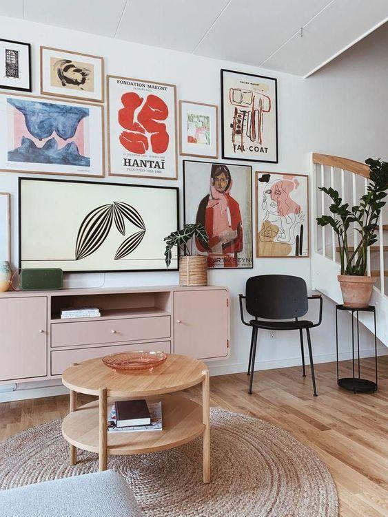 20 idées créatives de décoration murale pour aménager votre maison