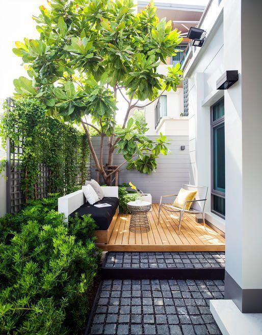 20 Idées pour aménager un petit jardin