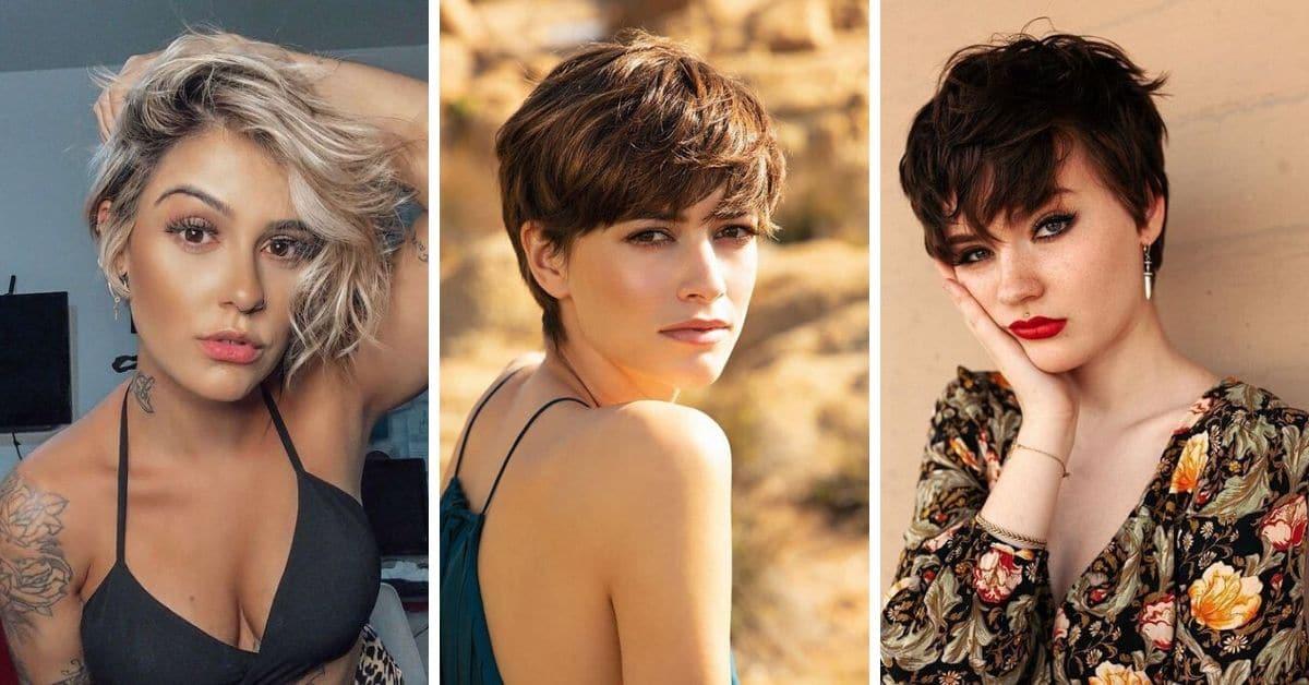 20 Coupe de cheveux courte pour les femme
