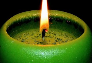 Bougie verte - Signification et symbolisme