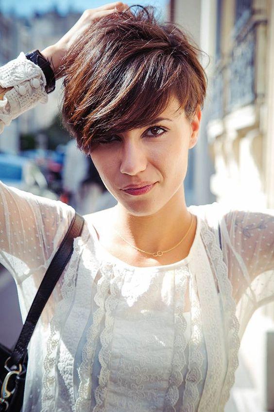 Coupe de cheveux courte