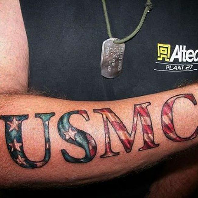 Tatouages USMC