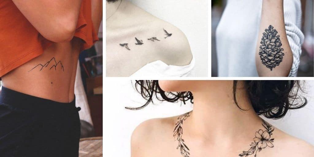 20 Inspirations de tatouages qui célèbrent la nature