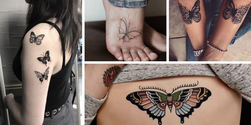 20 Superbes idées de tatouage de papillon