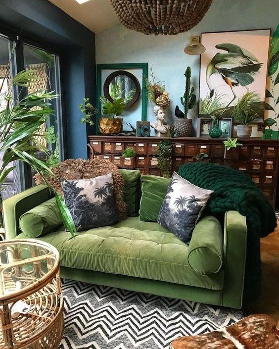 Salons verts