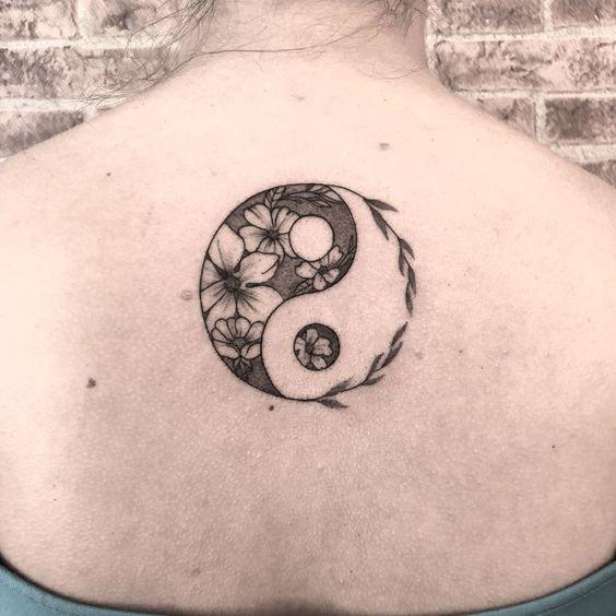 Tatouage ying yang