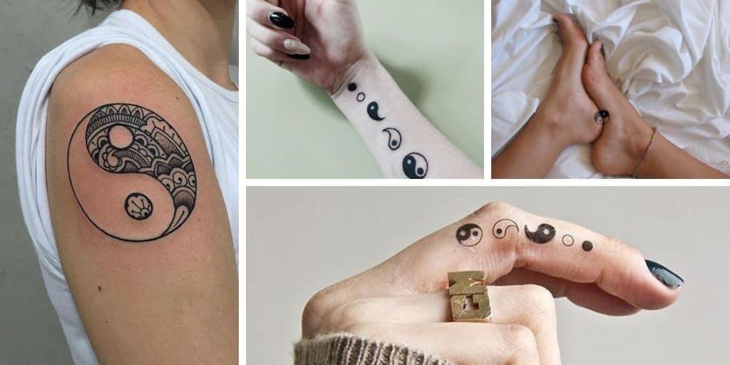 Tatouage ying yang : 16 idées pour les femmes