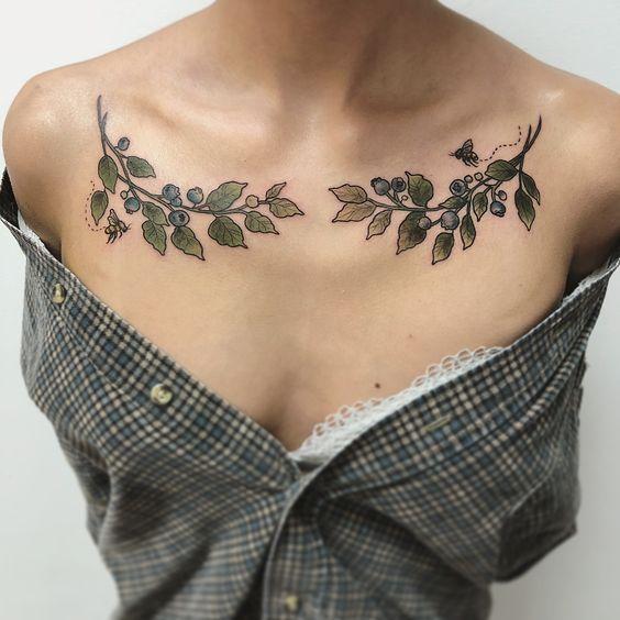 Tatouages de plantes