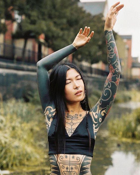 Tatouages yakuza