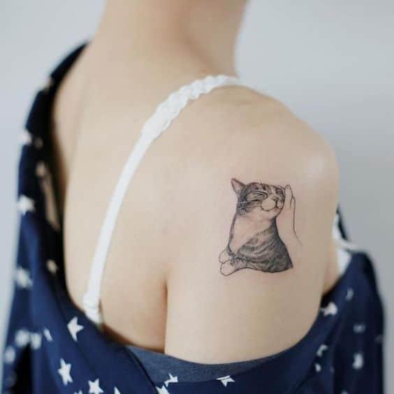 tatouage chat