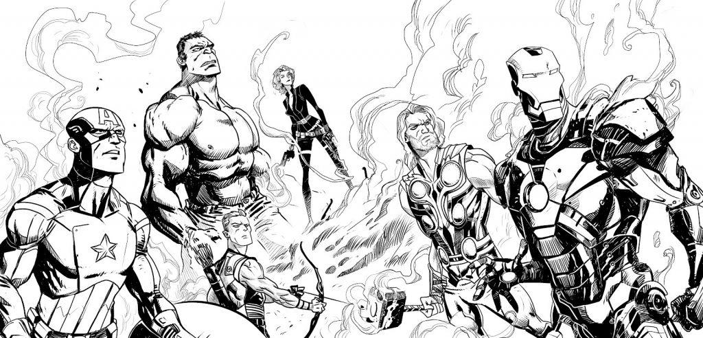 Images de Avengers à imprimer